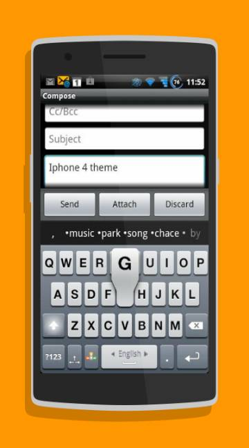 A.I.type Keyboard Free-screenshot-1