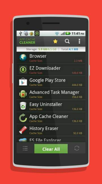 App Cache Cleaner-screenshot-1