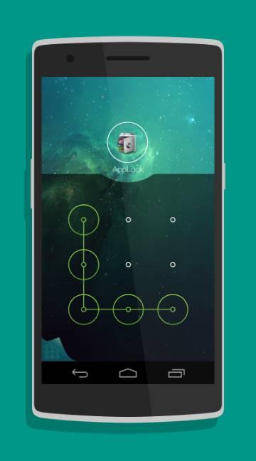 AppLock Theme Space-screenshot-1