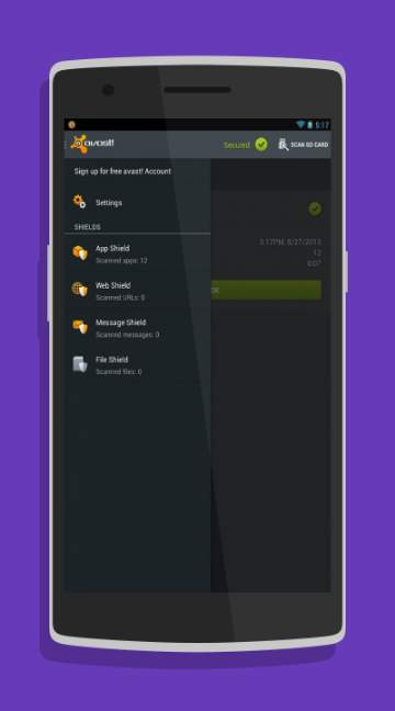avast! Mobile Security-screenshot-1