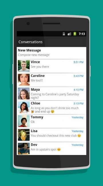 Chomp SMS-screenshot-1