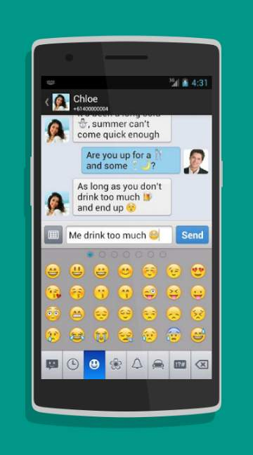 Chomp SMS-screenshot-2