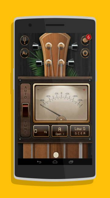Chromatic Guitar Tuner-screenshot-1