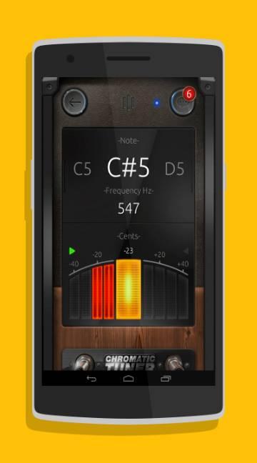 Chromatic Guitar Tuner-screenshot-2