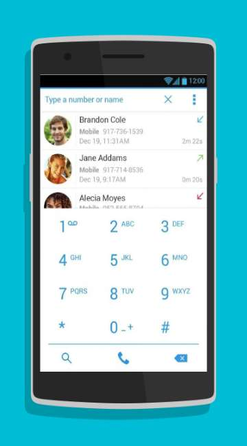 Dialer Plus-screenshot-1