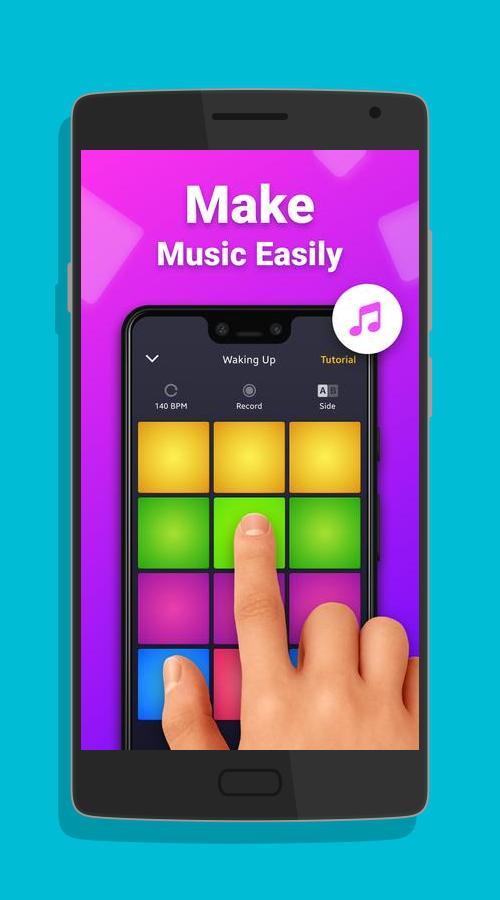 Drum Pad Machine - Make Beats Android app Free Download