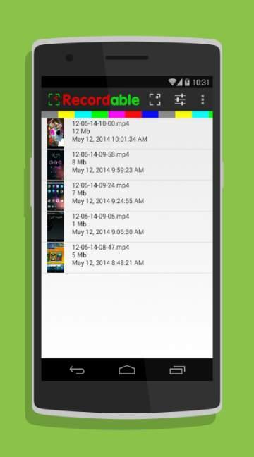 FREE screen recorder NO ROOT-screenshot-1
