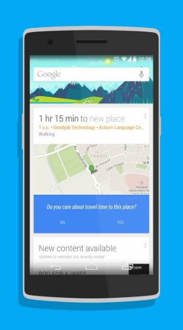 Google Now Launcher-screenshot-1