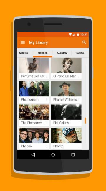 Google Play Music-screenshot-1