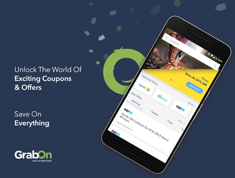 GrabOn - Coupons & Deals-screenshot-1