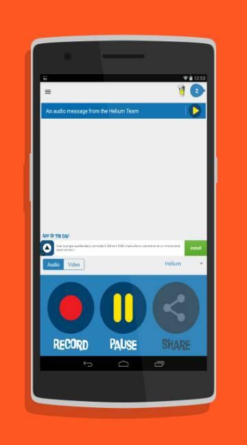 Helium Voice Changer-screenshot-1