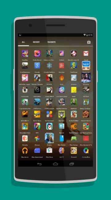Holo Launcher-screenshot-2