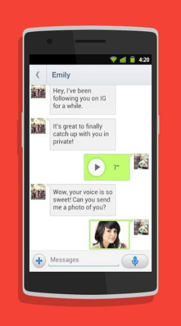 InstaMessage-screenshot-1