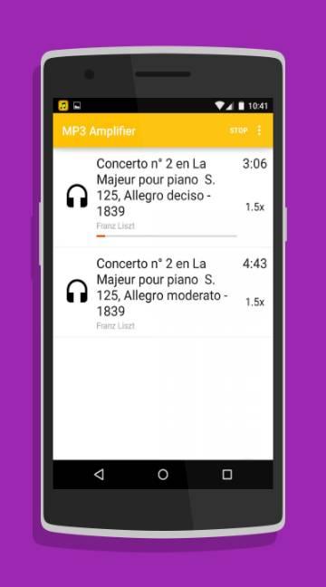 MP3 Amplifier-screenshot-1