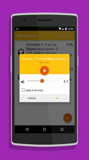 MP3 Amplifier-screenshot-2