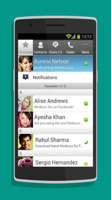 Nimbuzz Messenger-screenshot-1