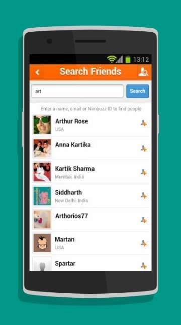 Nimbuzz Messenger-screenshot-2