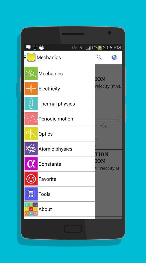 Physics Formulas-screenshot-1