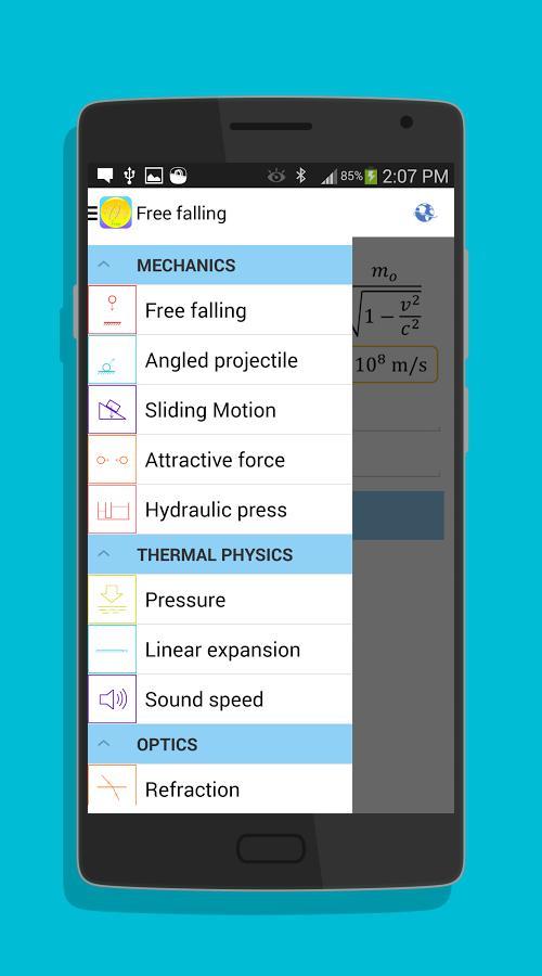 Physics Formulas-screenshot-2