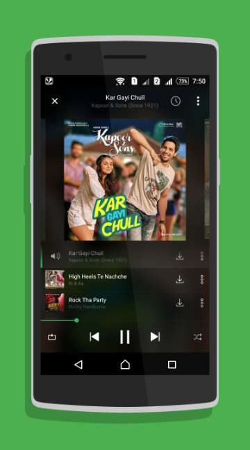 Saavn Music & Radio-screenshot-2