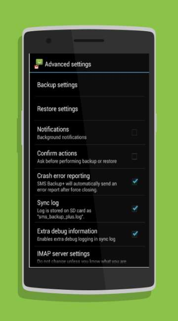 SMS Backup-screenshot-1