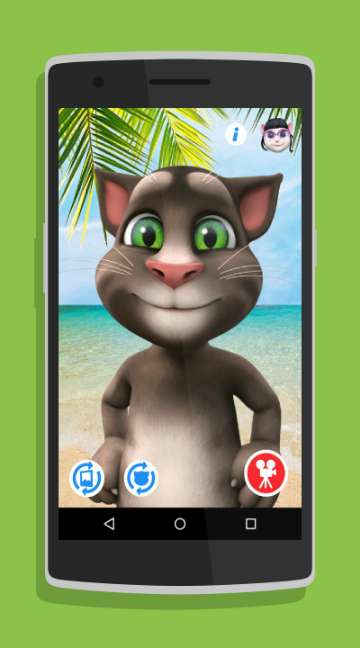 Talking Tom for Messenger-screenshot-2
