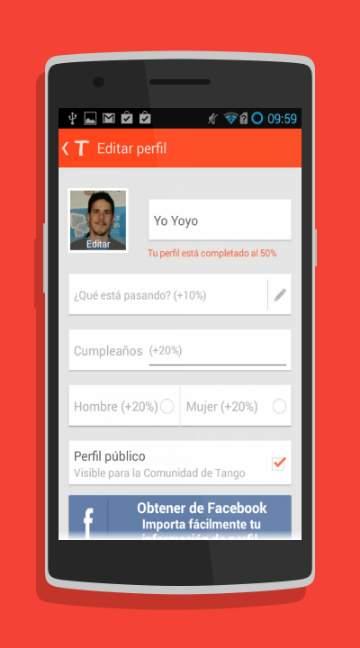Tango Messenger-screenshot-1