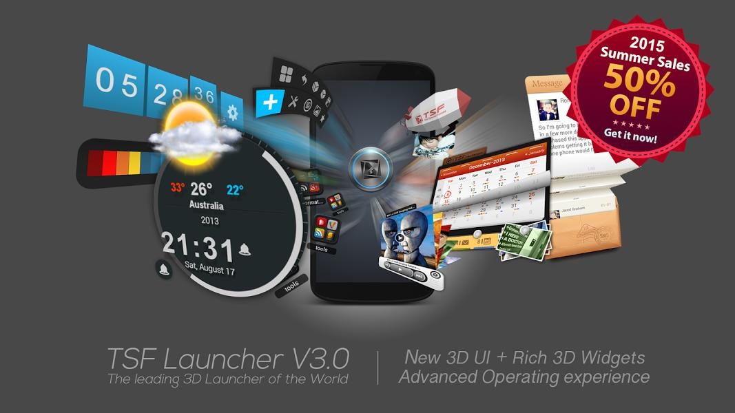TSF Launcher 3D Shell-screenshot-1
