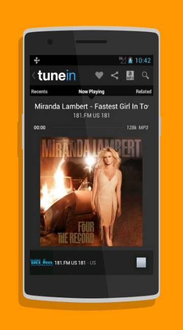 TuneIN Radio-screenshot-1