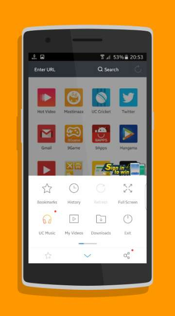 UC Browser-screenshot-1