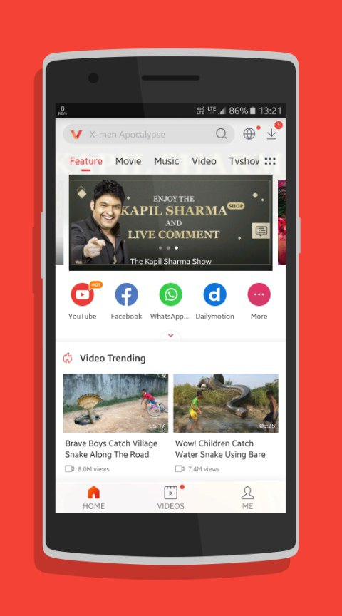 VidMate Android app Free Download - Androidfry