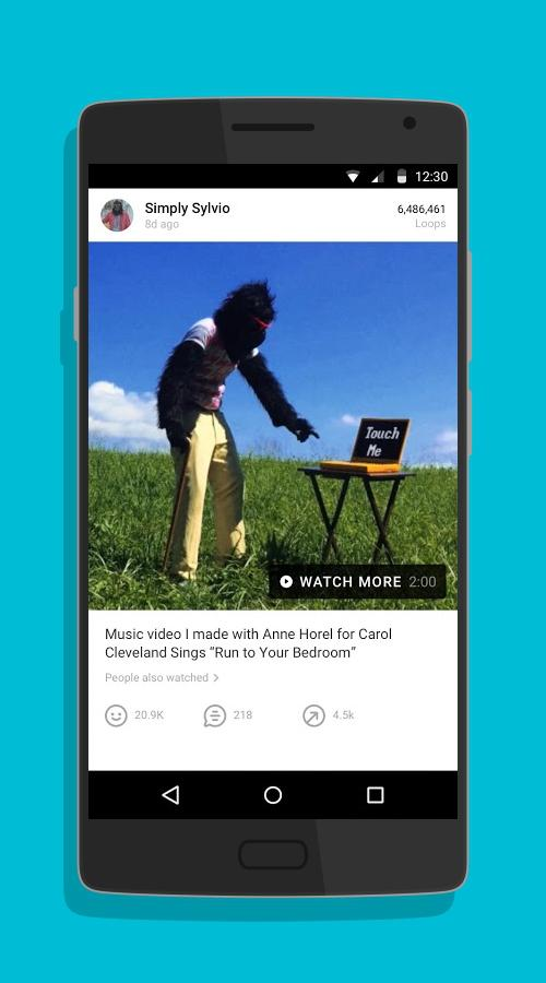 Vine - video entertainment-screenshot-1