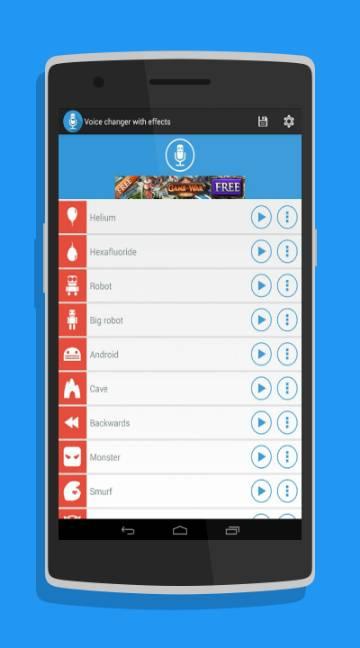 Voice Changer-screenshot-1