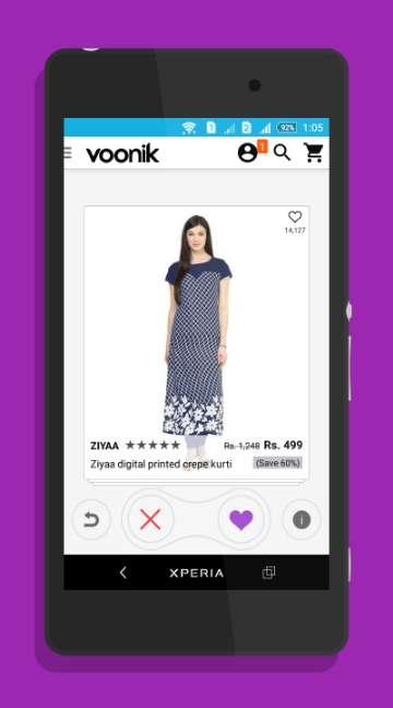 Voonik: Women Fashion Shopping-screenshot-1