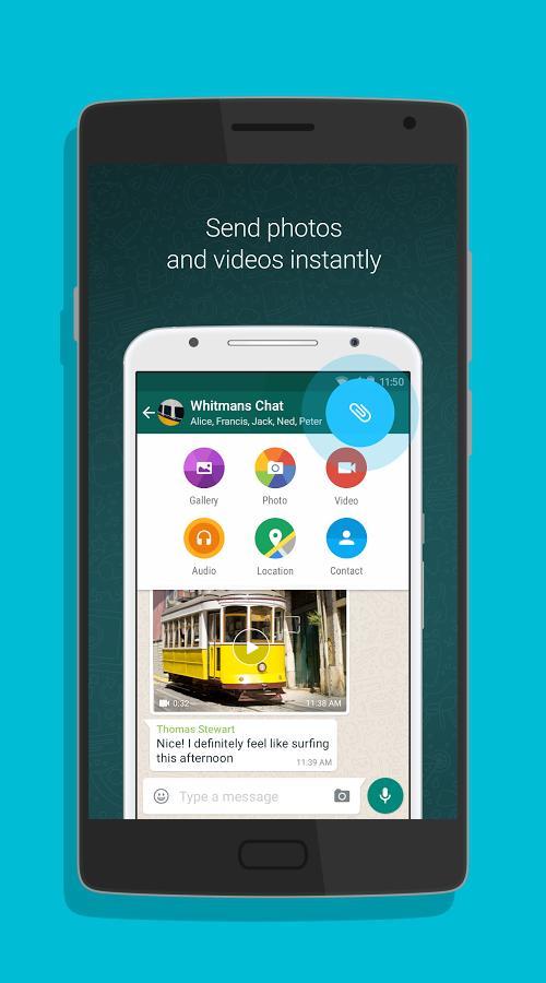 WhatsApp Messenger-screenshot-1