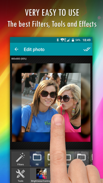Wizard Photo Editor-screenshot-1