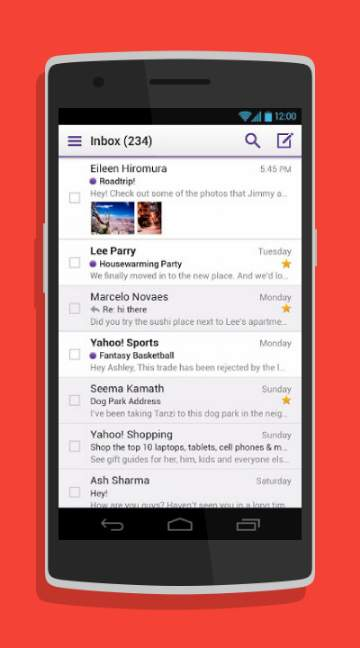 Yahoo Mail!-screenshot-2