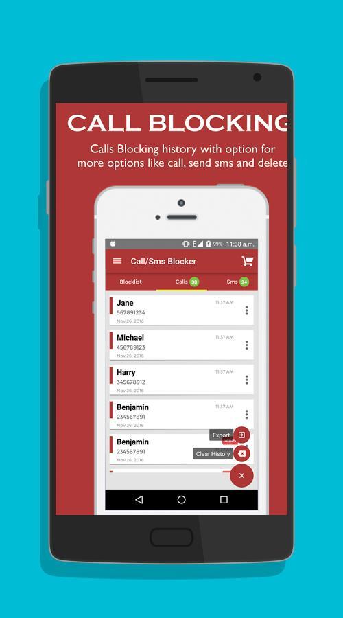 Yo Call and SMS Blocker-screenshot-1
