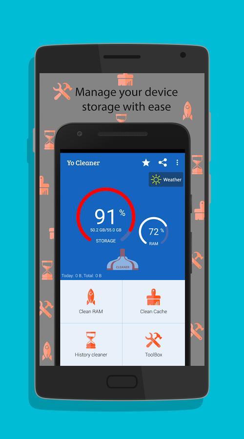 Yo Cleaner - Battery Booster-screenshot-2
