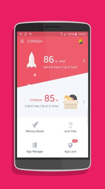Z Speed + Junk Cleaner-screenshot-1
