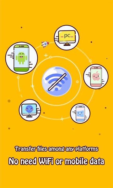 Zapya: File Sharing, Transfer-screenshot-2