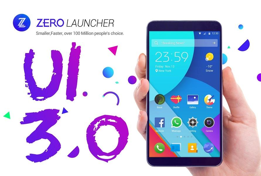 ZERO Launcher-screenshot-1